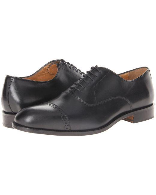 Massimo Matteo - 6-eye Bal Cap Toe (black) Men's Lace Up Cap Toe Shoes for Men - Lyst