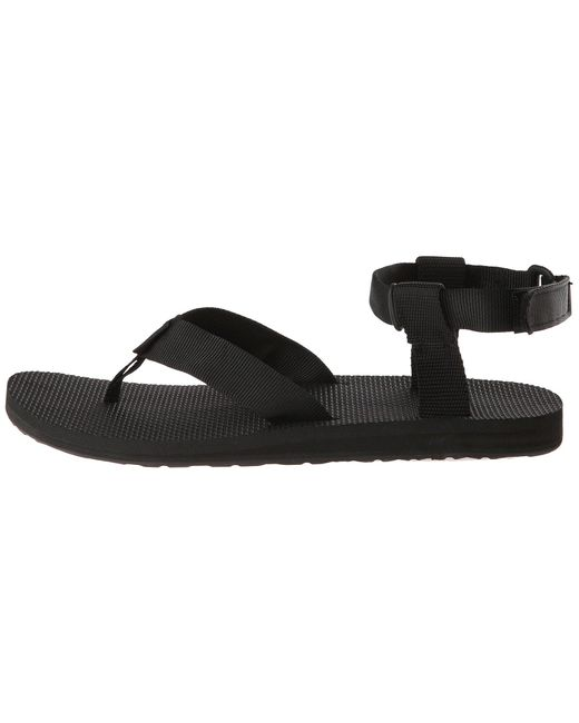 45112d674 ... Lyst Teva - Original Sandal - Urban (black) Men s Sandals for Men ...