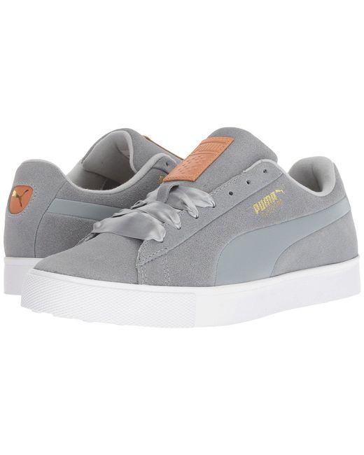 PUMA - Gray Suede G (quarry/quarry) Women's Shoes - Lyst