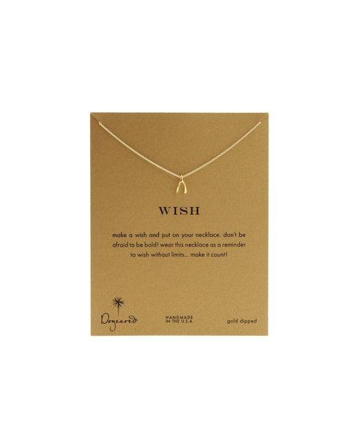 Dogeared | Metallic Wish Reminder 16 Inch | Lyst