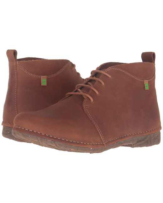 El Naturalista - Multicolor Angkor N974 (wood) Women's Lace-up Boots - Lyst