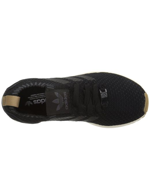 82466d6165e2c ... Adidas Originals - Black Zx Flux Primeknit for Men - Lyst ...