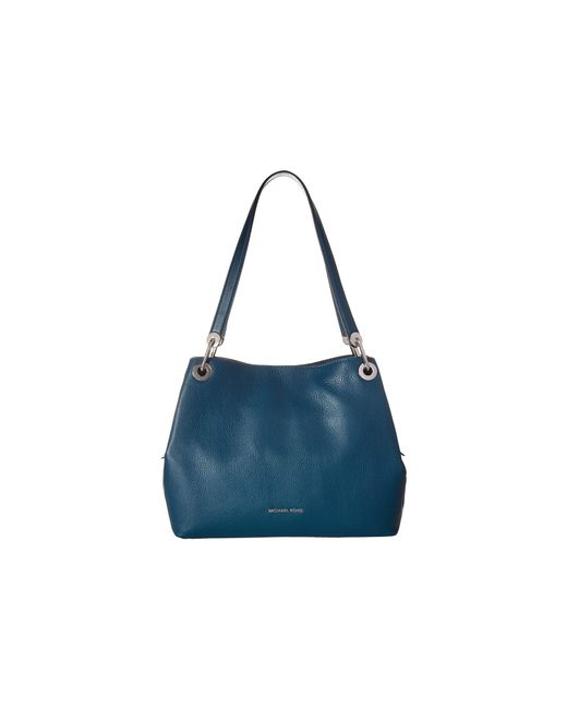 MICHAEL Michael Kors - Blue Raven Large Shoulder Tote (pearl Grey) Tote Handbags - Lyst