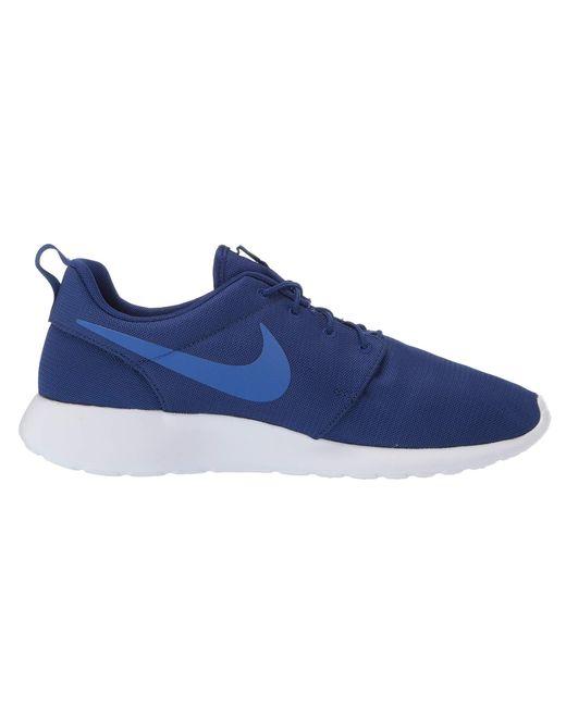 a48d05327459 Lyst - Nike Roshe One (black black) Men s Classic Shoes in Blue for Men