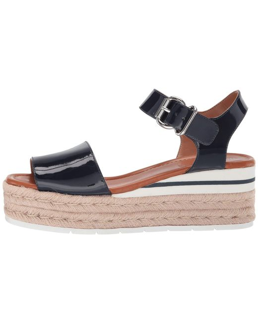 897eb42d4a3 Lyst - Nine West Layla Espadrille Sandal (dark Blue) Women's Shoes ...