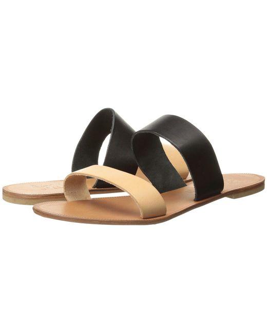 Joie - Sable (black/natural) Women's Sandals - Lyst
