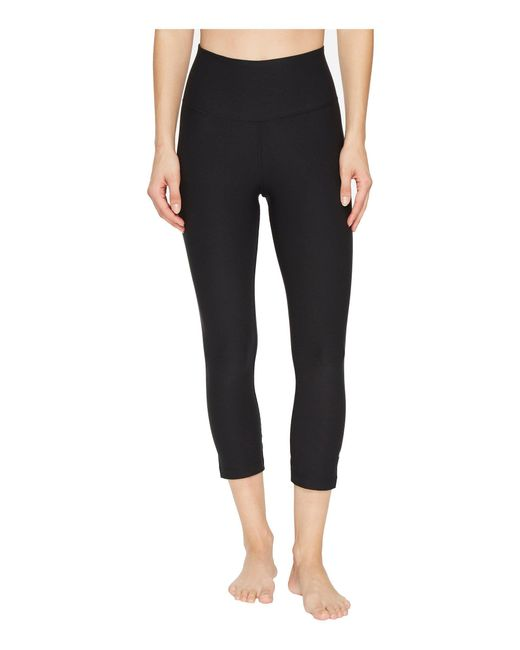 Nike - Sculpt Hyper Crop (black/clear) Women's Clothing - Lyst