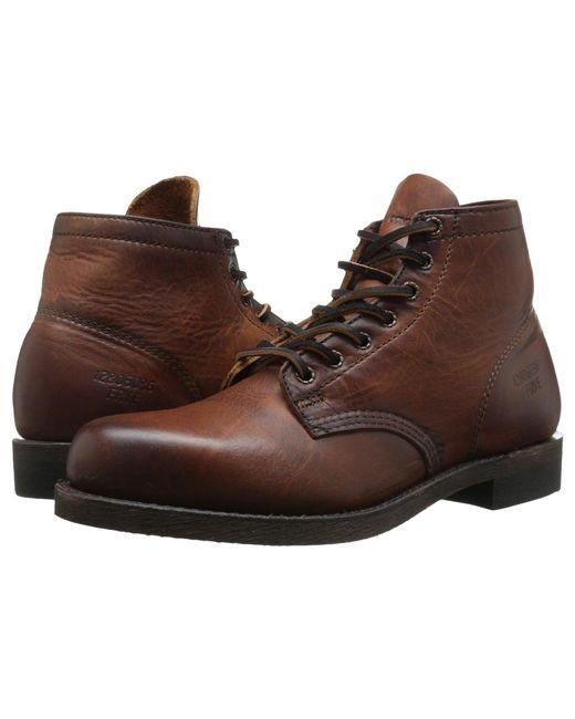 Frye - Brown Prison Boot for Men - Lyst