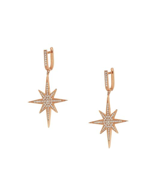 Shashi - Multicolor Aria Star Drop Earrings - Lyst