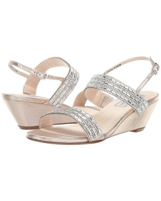 0c888e227912a7 Lyst - Touch Ups Allison (champagne) Women s Dress Sandals in Metallic