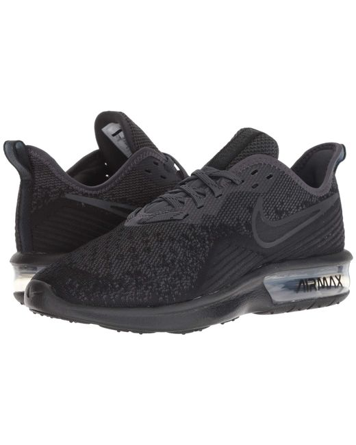 san francisco 5b4dd 0d01d Nike - Air Max Sequent 4 (black black anthracite) Women s Running Shoes ...