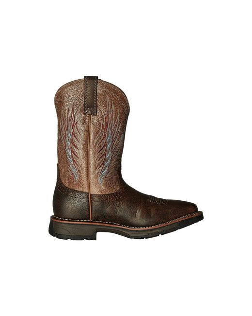 d988c6d9e7e2 ... Ariat - Workhog Mesteno Ii (rustic Brown stone) Cowboy Boots for Men ...