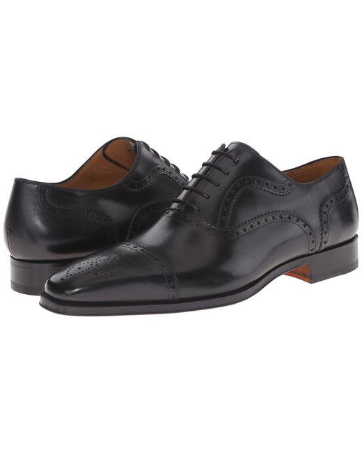 Magnanni Shoes | Black Santiago for Men | Lyst