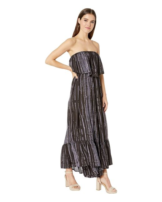 31d0fe3bb8a ... Free People - Summer Vibes Tube Romper (black) Women s Jumpsuit   Rompers  One Piece