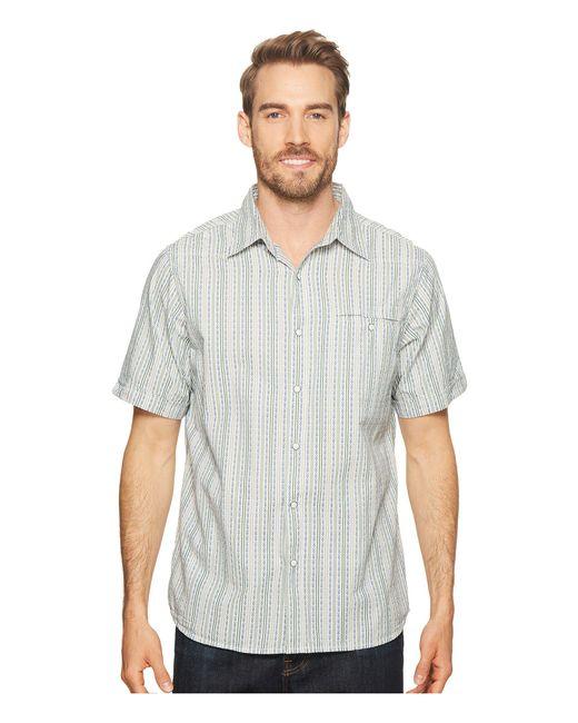Mountain Khakis - Gray El Camino Short Sleeve (rojo) Men's Clothing for Men - Lyst