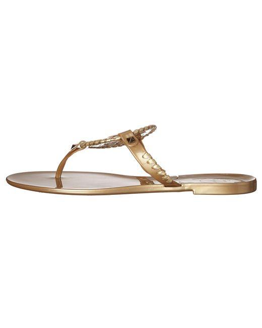 99f5632105df ... Lyst Jack Rogers - Metallic Georgica Jelly (gold) Women s Sandals ...