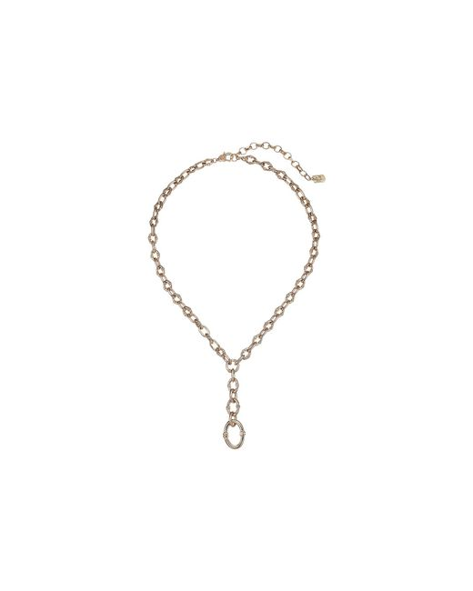 Lauren by Ralph Lauren - Metallic Link Toggle Y Necklace (gold) Necklace - Lyst