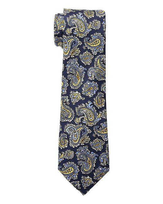 Lauren by Ralph Lauren - Small Paisley Tie (blue) Ties for Men - Lyst