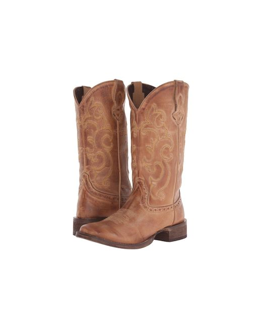 Roper - Brown Classic Cowgirl (tan) Cowboy Boots - Lyst