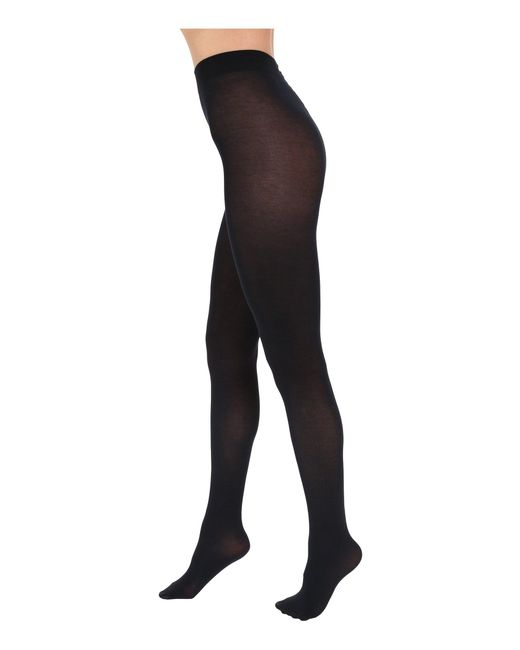 Falke - Blue Cotton Touch Tights - Lyst