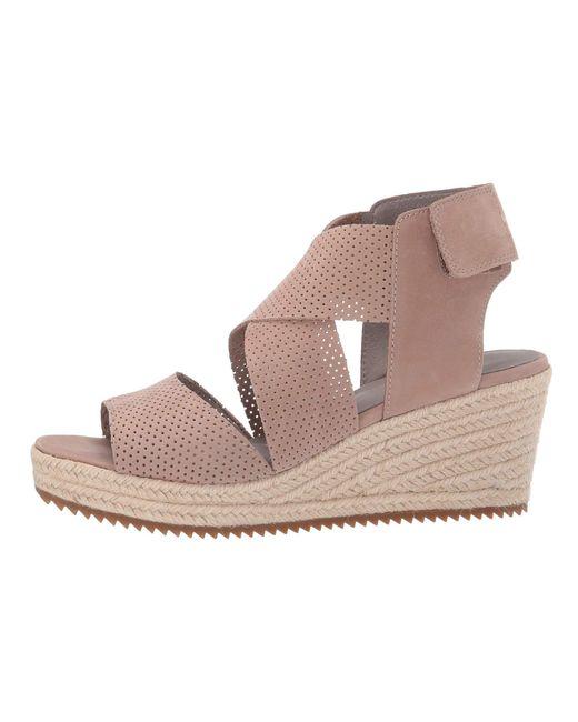 70662d2ceee ... Lyst Eileen Fisher - Multicolor Willow 2 (earth Nubuck) Women s Wedge  Shoes ...