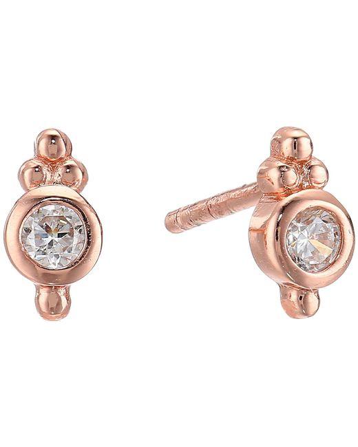 Shashi - Multicolor Ballerina Stud Earrings (gold) Earring - Lyst