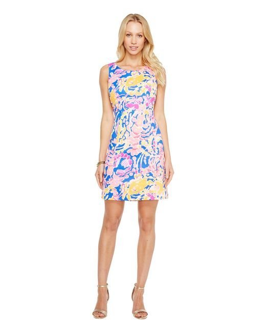 Lilly Pulitzer - Blue Courtney Shift (multi Sea Salt And Sun) Women's Dress - Lyst