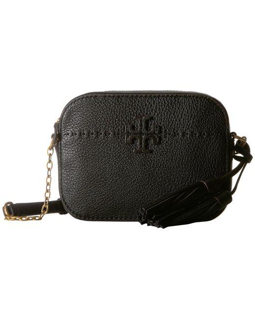 337caaa7ac61 Tory Burch - Black Mcgraw Camera Bag (silver Maple) Bags - Lyst ...
