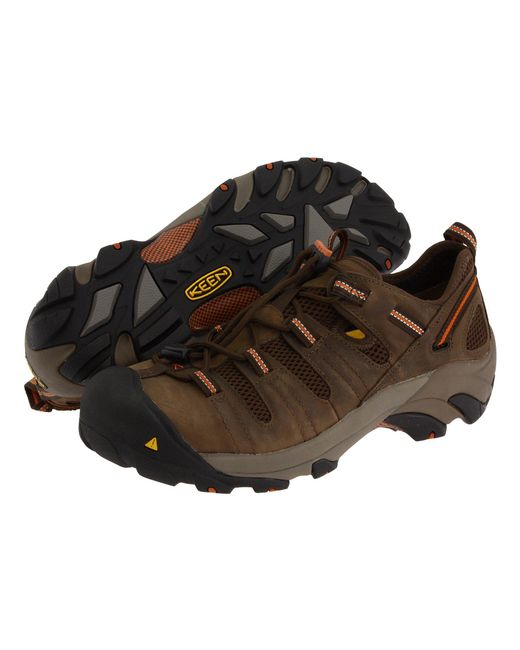 Keen Utility - Brown Atlanta Cool (shitake/rust) Men's Industrial Shoes for Men - Lyst
