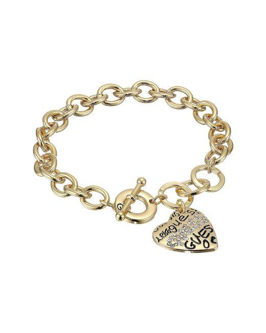 Guess - Metallic Toggle Bracelet I - Lyst