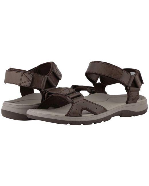 0d708bf02ea7 Vionic - Brown Leo (black) Men s Sandals for Men - Lyst ...