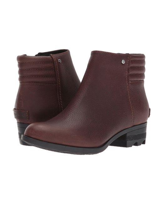 Lyst - Sorel Danica Short (quarry black) Women s Waterproof Boots in ... 3c2e3ac3e282