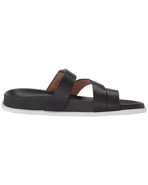 860c6bb8649f ... Blondo - Black Selma Leather Comfort Sandal - Lyst ...