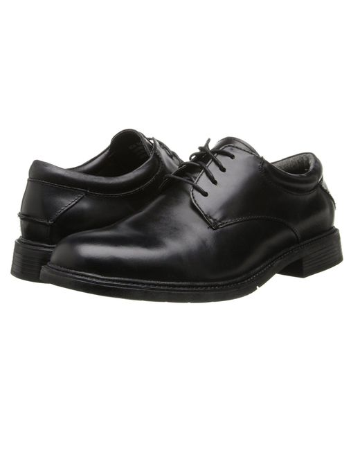 Nunn Bush - Orange Maury Plain Toe Oxford Lace-up (black) Men's Shoes for Men - Lyst