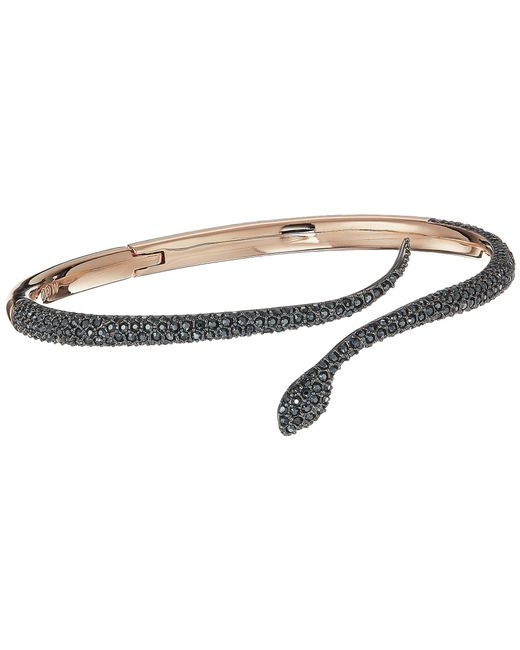 Swarovski - Multicolor Leslie Bangle (pink) Bracelet - Lyst
