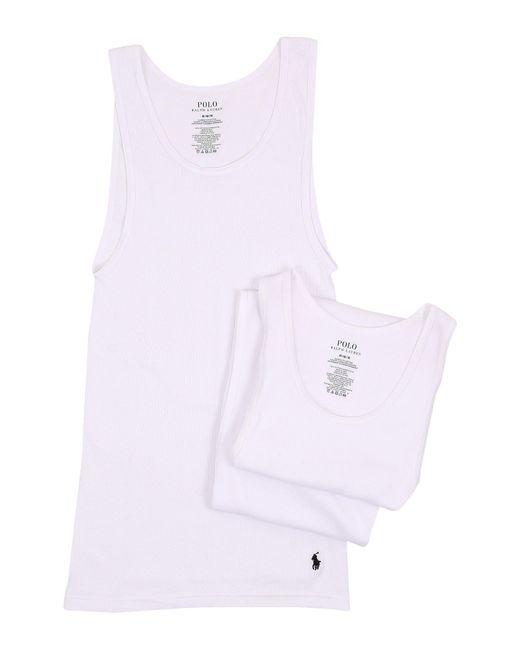 Polo Ralph Lauren - White 3-pack Tank Top for Men - Lyst