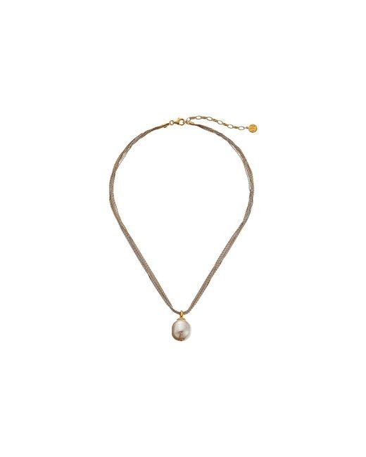 Majorica - Multicolor 16mm Baroque Multichain Necklace (multi/white) Necklace - Lyst