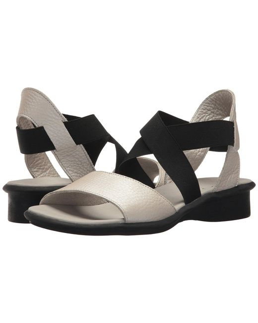 Arche - Black Satia (noir) Women's Sandals - Lyst