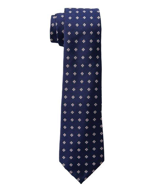 Lauren by Ralph Lauren - Blue Cross Neat Tie for Men - Lyst