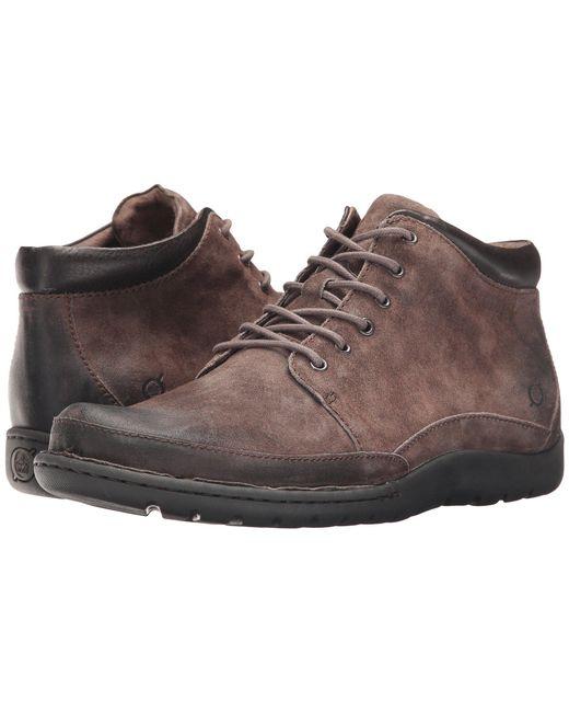 Born - Gray Nigel Boots for Men - Lyst