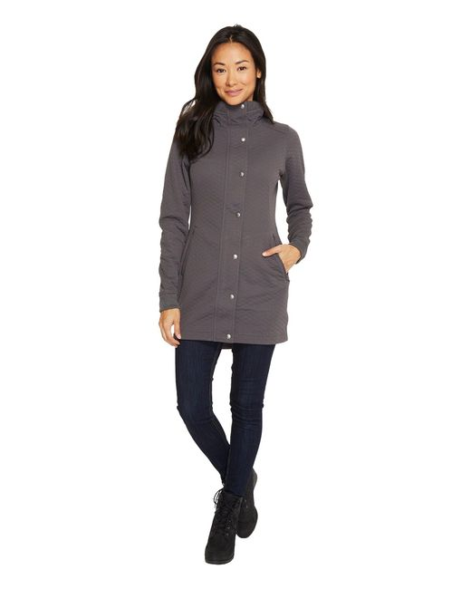 The North Face - Gray Recover-up Jacket (tnf Black) Women's Coat - Lyst
