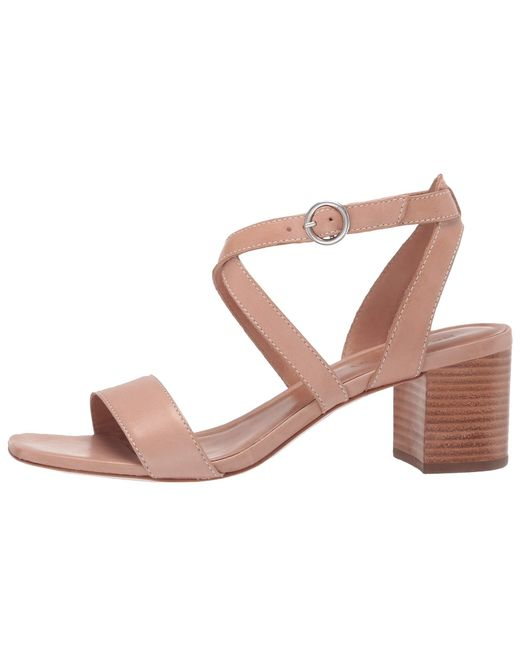d79ee8be538 ... Bernardo - Pink Brielle Heeled Sandal (blush Antique Calf) Women s  Sandals ...