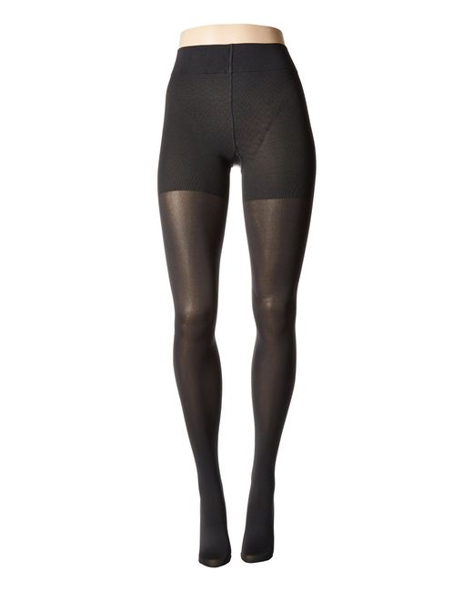 Wolford - Black Velvet De Luxe 66 Control Top Tights (admiral) Fishnet Hose - Lyst