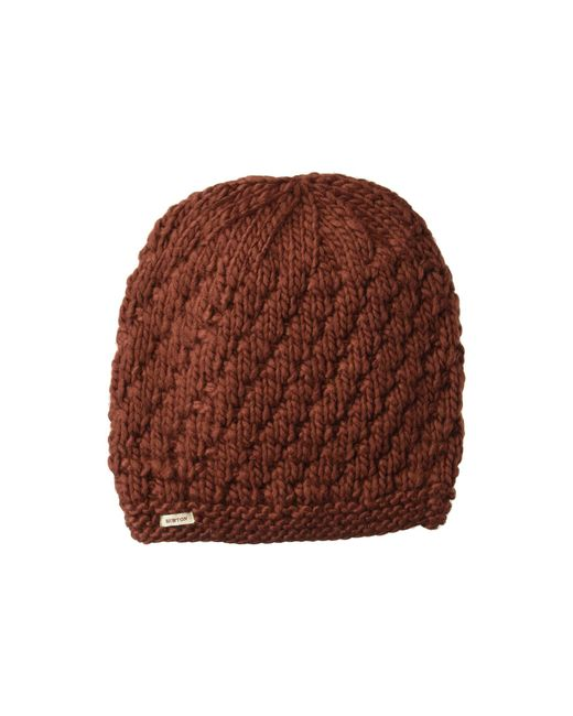 57b6e0e74ce Lyst - Burton Big Bertha Beanie (sparrow) Beanies in Brown