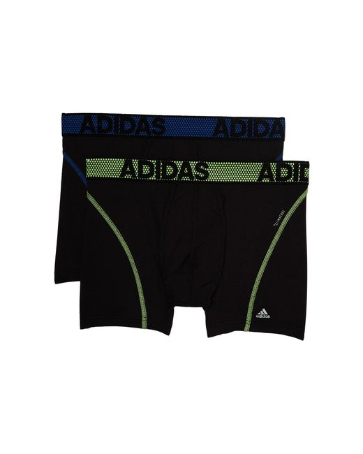 Adidas - Black Sport Performance Climacool 2-pack Trunk (hi-res Red/onix/onix/hi-res Red) Men's Underwear for Men - Lyst