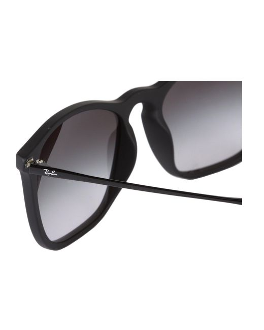 e15eaabb97 ... Ray-Ban - Rb4187 Square Keyhole Youngster 54mm (rubber black) Fashion  Sunglasses ...