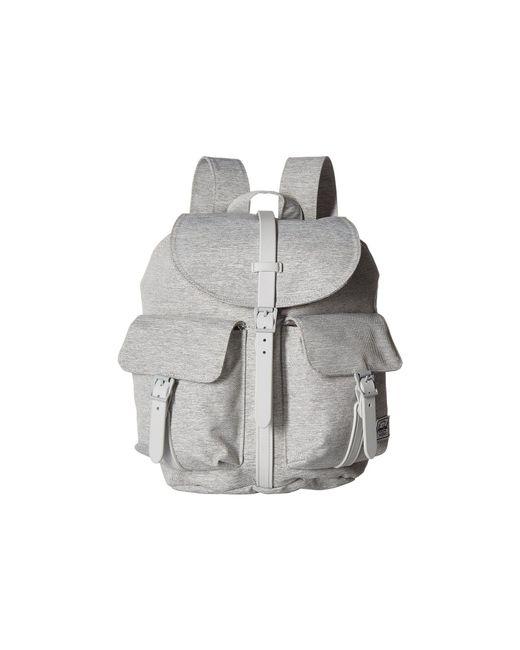 09dbef1ee6dd Herschel Supply Co. - Gray Dawson X-small (black tan Synthetic Leather ...