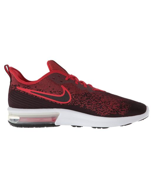 8bfbc08d49a ... Nike - Red Air Max Sequent 4 (black black anthracite) Men s Running ...