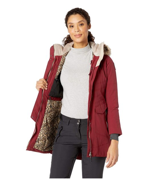 c6945e6add Lyst - Obermeyer Sojourner Down Jacket (charcoal) Women s Coat in Red