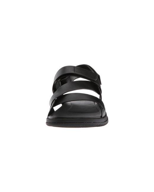 c7b8944bdcd9 ... Cole Haan - Black 2.zerogrand Multi Strap Sandal (woodbury dark Roast